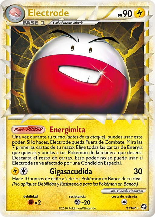 Pokemon Xy Electrodo 45//146 tarjeta infrecuente
