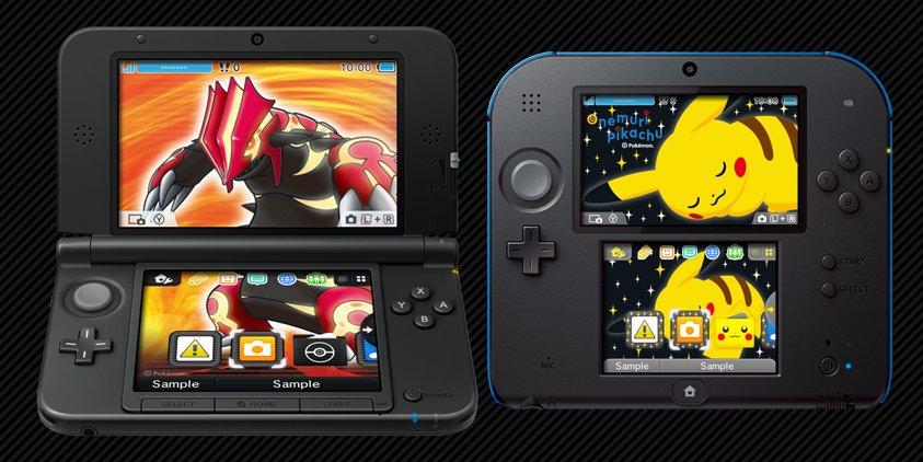 [Noticia] Llegan a Europa los primeros temas de Pokémon para 3DS 1368652735